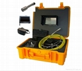 CCTV sewer&drain pipe inspection camera system with 512hz transmitter inside dvr 3