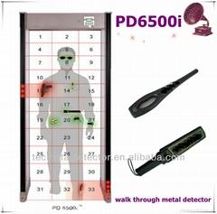 33 Zones Garrett PD6500i Walk Through Metal Detector