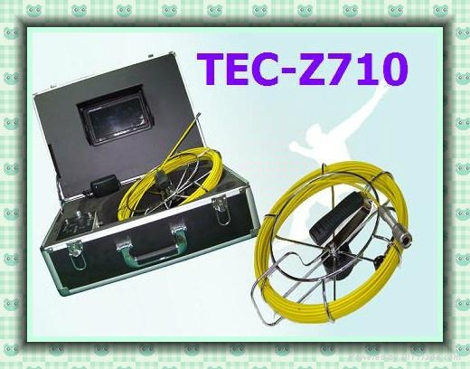 "Z710 Water Pipeline Inspection with 7""TFT Monitor and Meter-Counter 1"
