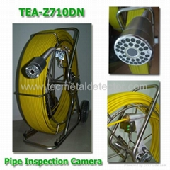 60~120M digital sewer pipe inspection camera with DVR  TEC-Z710DN