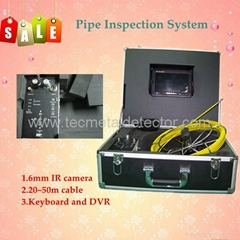 Waterproof Tube Camera with 6mm camera size and DVR TEC-Z710D5