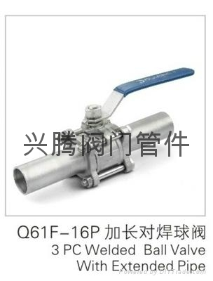 不锈钢三片式承插焊接球阀 5