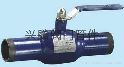 一体式钢制Q61F全焊接球阀 1