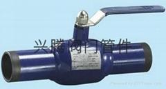 一體式鋼制Q61F全焊接球閥