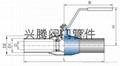 一体式钢制Q61F全焊接球阀 2