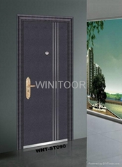 Exterior Security Steel  Door By Winitoor Manufacturer (WNT-ST090)