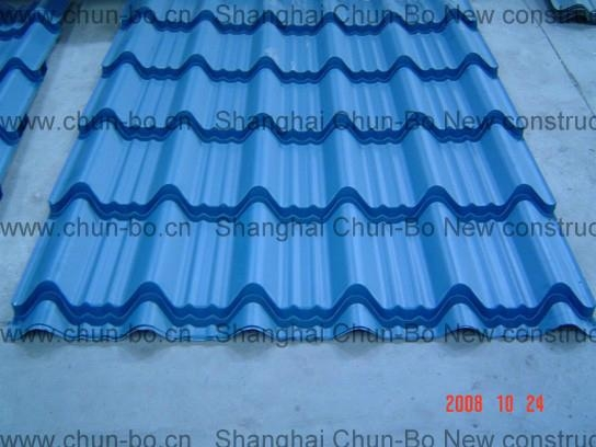 Cost-effective,Traditional steel roof tile and sheet W855A 1
