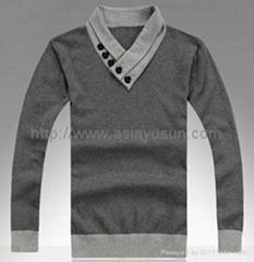 100% cotton Men Sweater