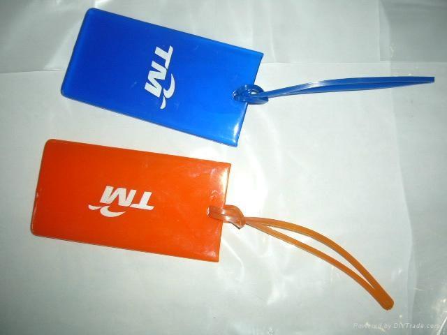 塑料行李牌 1