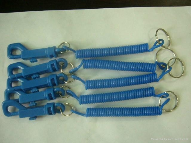 精品塑料彈簧繩 1