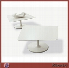Clear Round Acrylic/Perspex Coffee Table designed with imagination