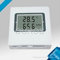 Display type temperature and humidity transmitter