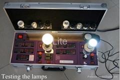 Hot sale DC/AC Lux power meter --lights demo box