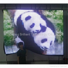 soft LED video display (pitch 25mm)