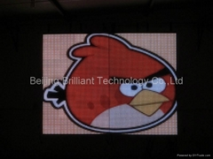 Pitch25mm ,soft led video wall screen is