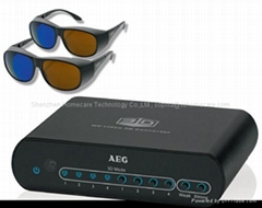 2D to 3D Video Converter (Full HD 1080P ,with 3D Video glassed for HDTV)