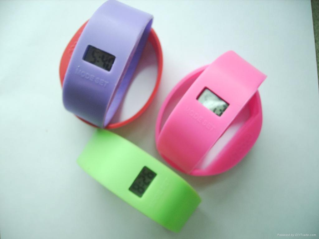 silicone digital watch  2