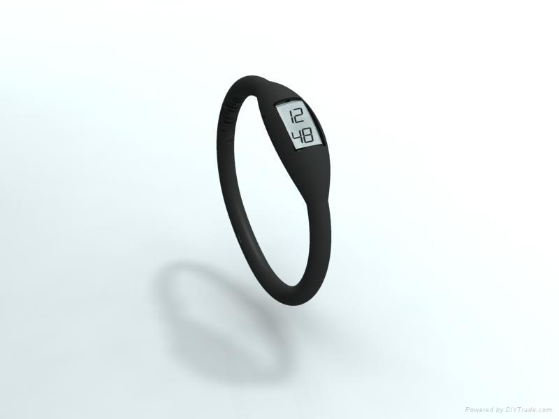 silicone digital watch  4