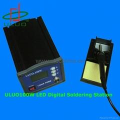 LED display soldering station