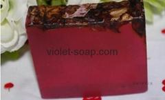 有机保加利亚玫瑰精油手工皂