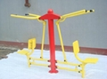 outdoor fitness equipment-seated lat