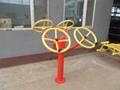 outdoor fitness equipment-Taiji pushing apparatus 1