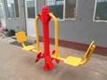 outdoor fitness equipment-leg press