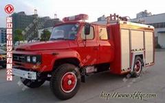 東風尖頭3.5噸水罐消防車