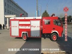 东风多利卡双排座消防车