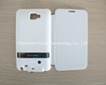 Extended battery case for Samsung galaxy