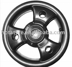 Baby stroller wheel,plastic stroller wheel,plastic pram rim
