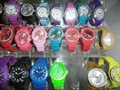 OEM/ ODM Silicone watch, plastic LCD watch, cheapest gift watch