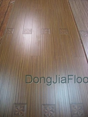 New collection 12.3mm Laminate Floor of Registered Embossed wood grain flooring
