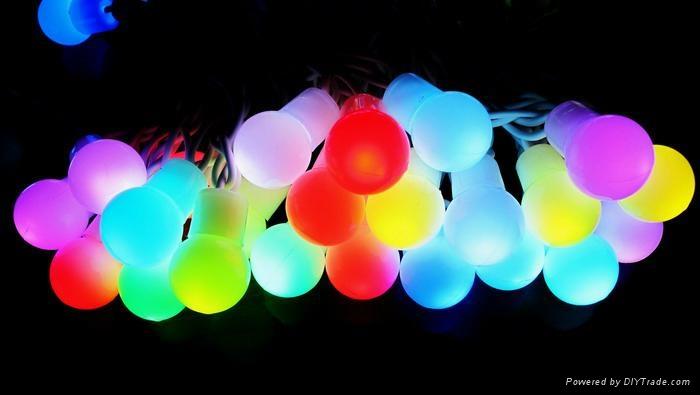 LED RGB Ball string light 1