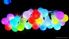 LED RGB Ball string light