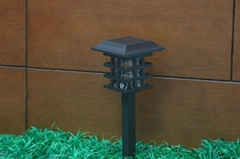 7lm solar lawn lights7lm*2pcs LEDfrosted decorative glass lamp