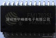 复旦非接触式高频RFID读写芯片FM1702SL