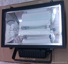 Flood induction lighting
