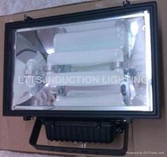 Flood induction lighting