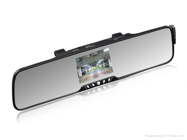 "3.5"" TFT  Bluetooth car kit wireless back-up camera system 1"