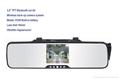 3.5''TFT bluetooth car kit mirror