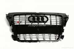 2005-12 A3 S3 grill for Audi A3 front bumper