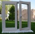 soundproof PVC casement window