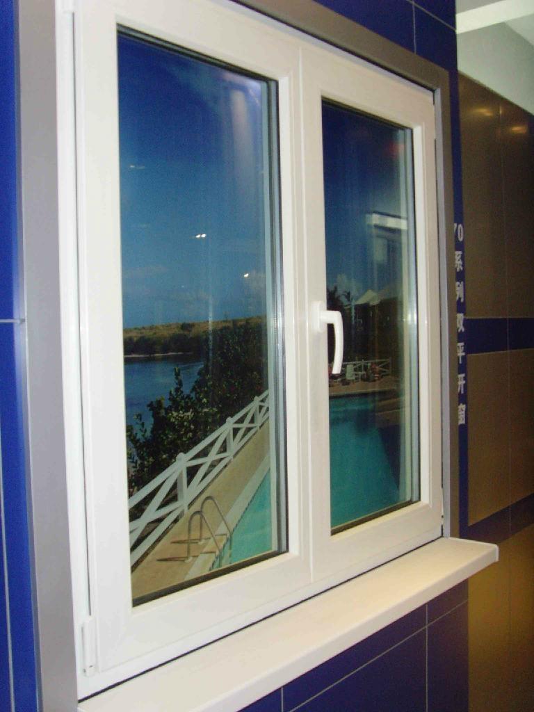 soundproof PVC casement window 3