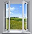 ecological PVC casement window