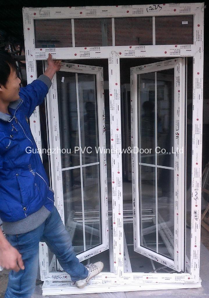 ecological PVC casement window 2