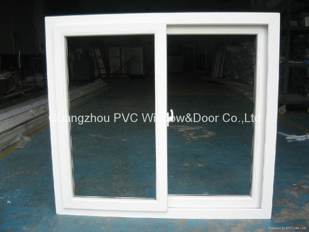 environmental friendly PVC sliding window 1