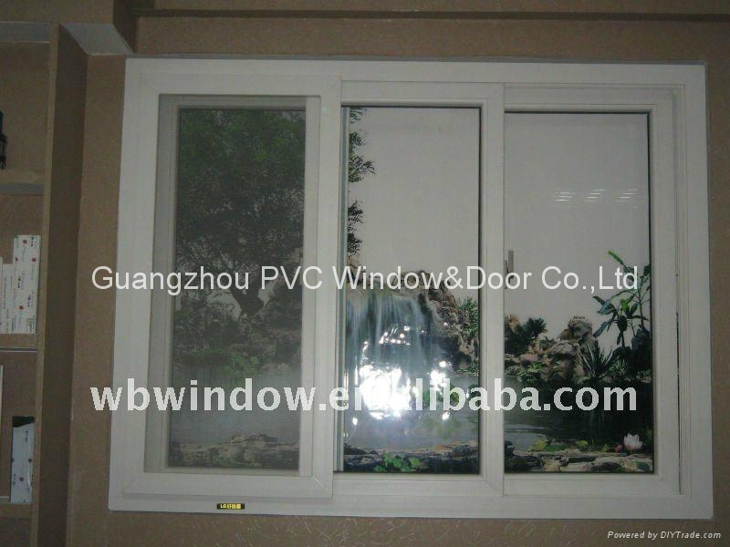 environmental friendly PVC sliding window 2