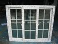 European style  PVC sliding window 1