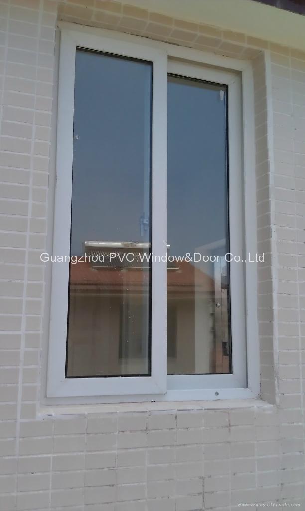 European style  PVC sliding window 3